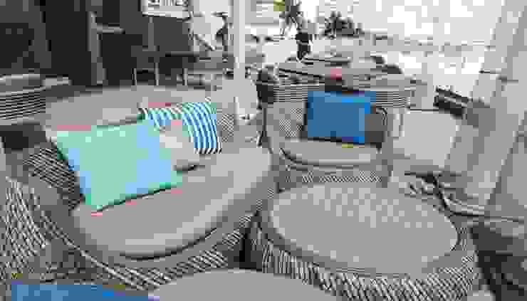 Terraza Hotel Royalton Suites Cancún Resort & Spa de EASYDEKOR Textiles de alto rendimiento Moderno