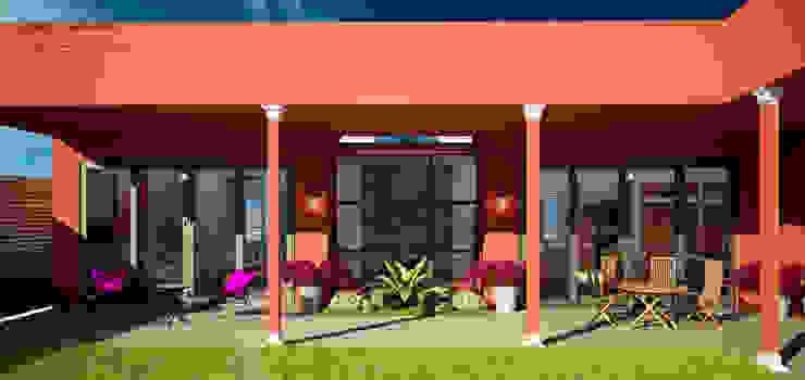 Balcon, Veranda & Terrasse coloniaux par Citlali Villarreal Interiorismo & Diseño Colonial