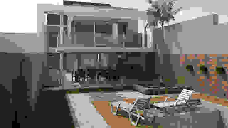 by viviendas de autor Modern Limestone