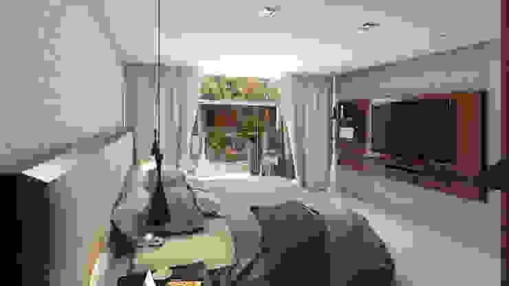 Habitacion Principal Cuartos de estilo moderno de Proyectos C&H C.A Moderno
