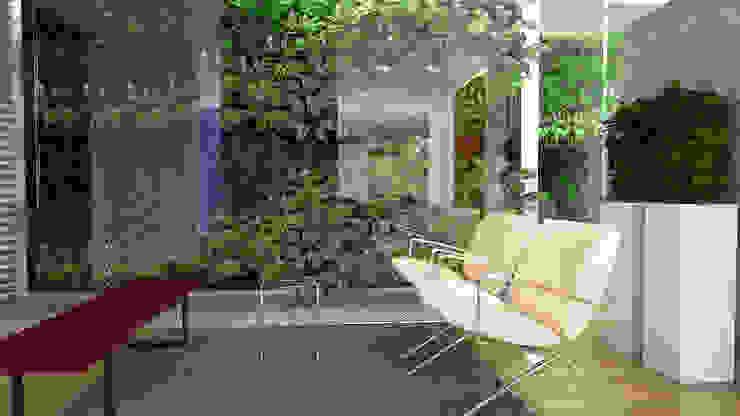 Hall de Acceso Salas de estilo moderno de Proyectos C&H C.A Moderno