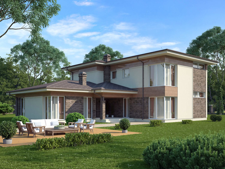 Country style house by Vesco Construction Country