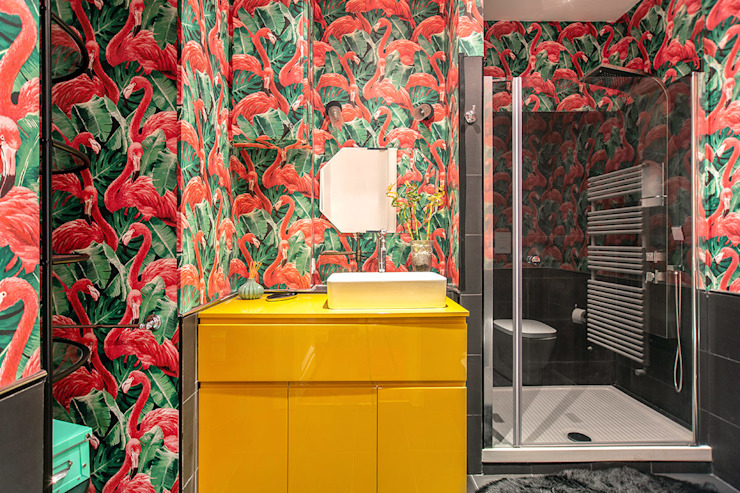 Eclectic style bathroom by Facile Ristrutturare Eclectic