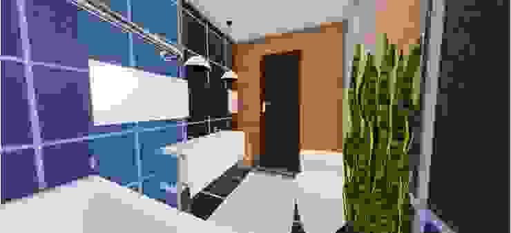 Renovação de WC Suite Banheiros clássicos por SweetYellow Clássico Madeira Efeito de madeira