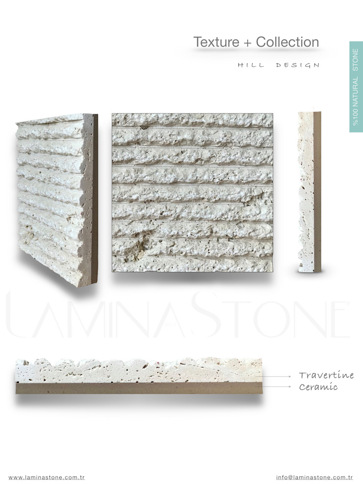Rustic style walls & floors by Lamına Stone Rustic Limestone
