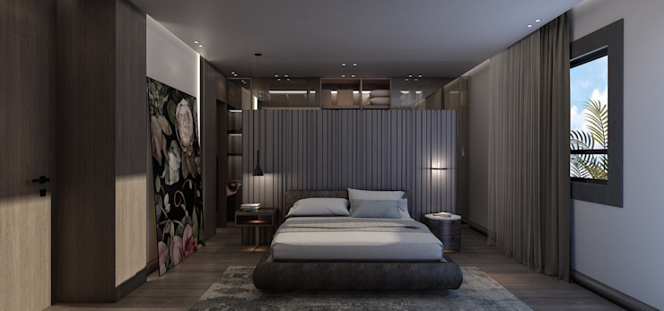 HM—Dunes Modern Bedroom by STUDIO PARADIGM Modern