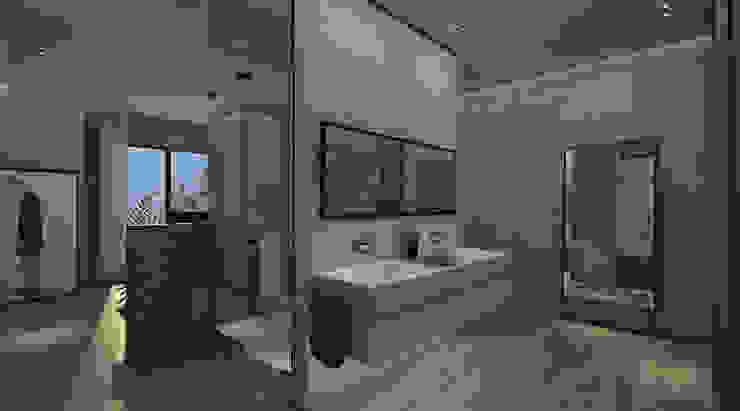 KG—Eastown Modern Bathroom by STUDIO PARADIGM Modern