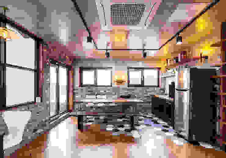윤성하우징 Modern style kitchen
