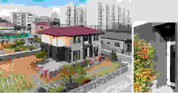 외관 모던스타일 주택 by 윤성하우징 모던