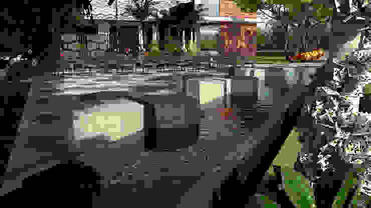 Area de Contemplacion:  de estilo tropical por Proyectos C&H C.A, Tropical