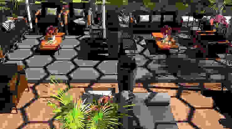 Areas Vip:  de estilo tropical por Proyectos C&H C.A, Tropical