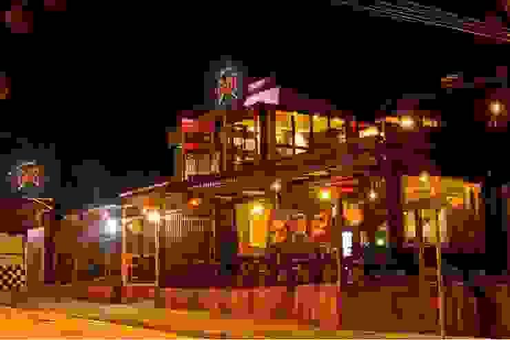 AP Arquitetura Ecoeficiente Bars & clubs Iron/Steel Orange