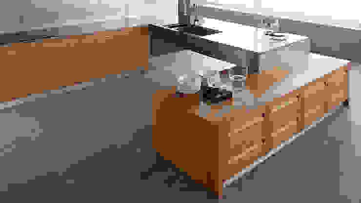 Espacios Ahorradores: Muebles de cocinas de estilo  por Corporación Siprisma S.A.C, Minimalista