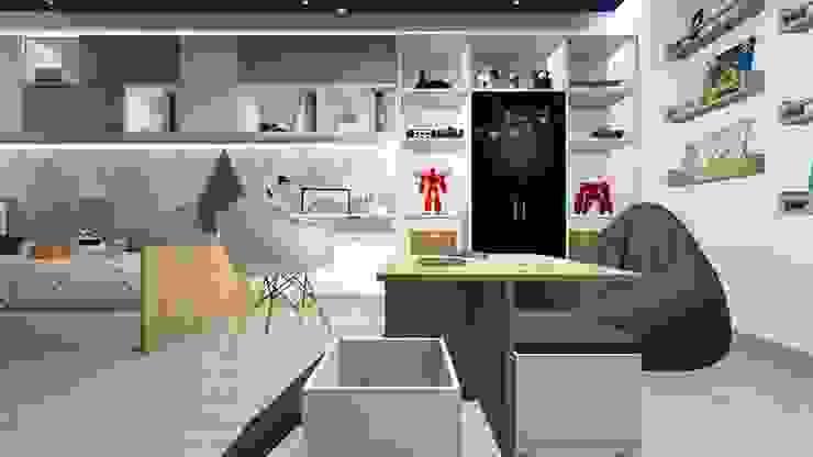 ทันสมัย  โดย Lucero Pardo M. - Diseñadora de Interiores, โมเดิร์น ไม้ Wood effect