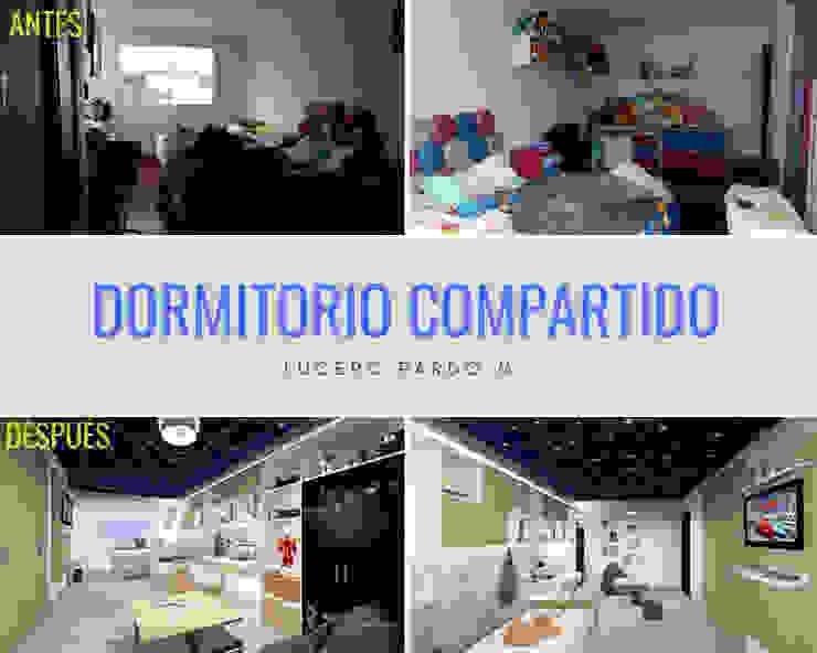 โดย Lucero Pardo M. - Diseñadora de Interiores โมเดิร์น ไม้ Wood effect