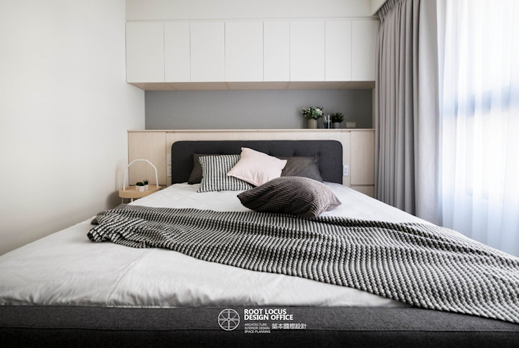 bedroom design Scandinavian style bedroom by 築本國際設計有限公司 Scandinavian