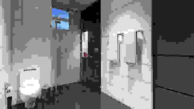 Baño / Condominio Filadelfia (Ibagué - Tolima) Baños de estilo ecléctico de Taller 3M Arquitectura & Construcción Ecléctico Cerámico