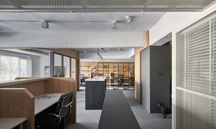 Office_ YU Design Lab 根據 御見設計企業有限公司 工業風