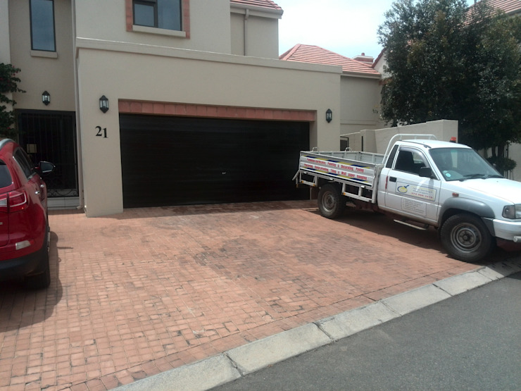 Completed garage door by Paint & Allied Projects