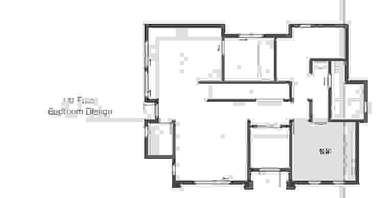 침실: 윤성하우징의 현대 ,모던