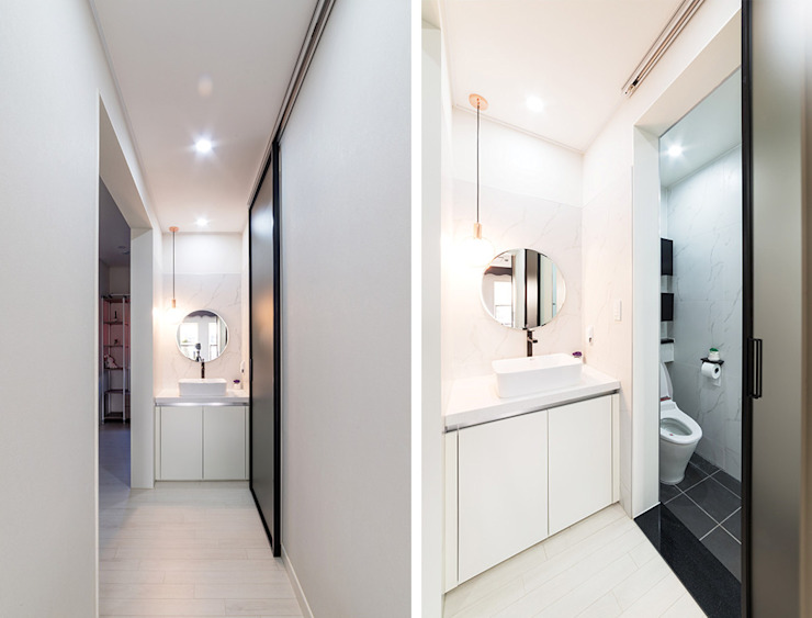 윤성하우징 Modern style bathrooms