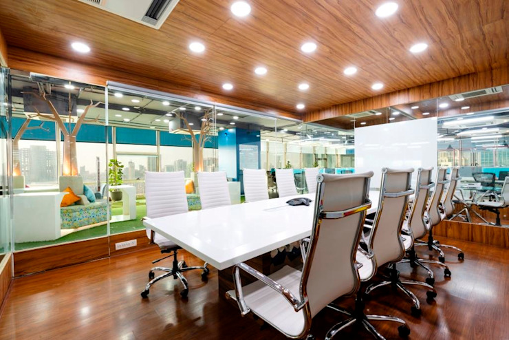 Interior for Clearsynth Office, Mumbai by Finch Architects Modern