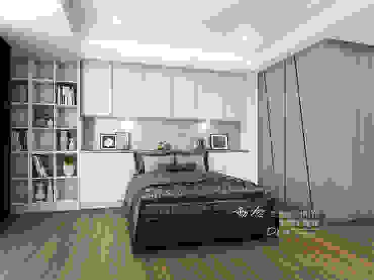 臥室 Modern style bedroom by 木博士團隊/動念室內設計制作 Modern Wood-Plastic Composite