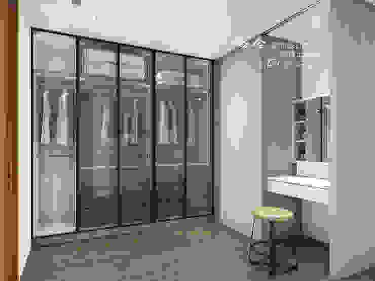 Modern Giyinme Odası 木博士團隊/動念室內設計制作 Modern Cam