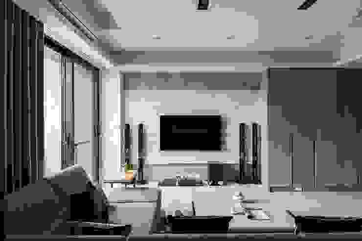 純淨都會-鄉林靜安 根據 富亞室內裝修設計工程有限公司 現代風 大理石