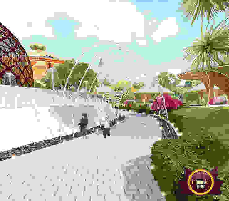 Elegant Exterior Park Design by Luxury Antonovich Design