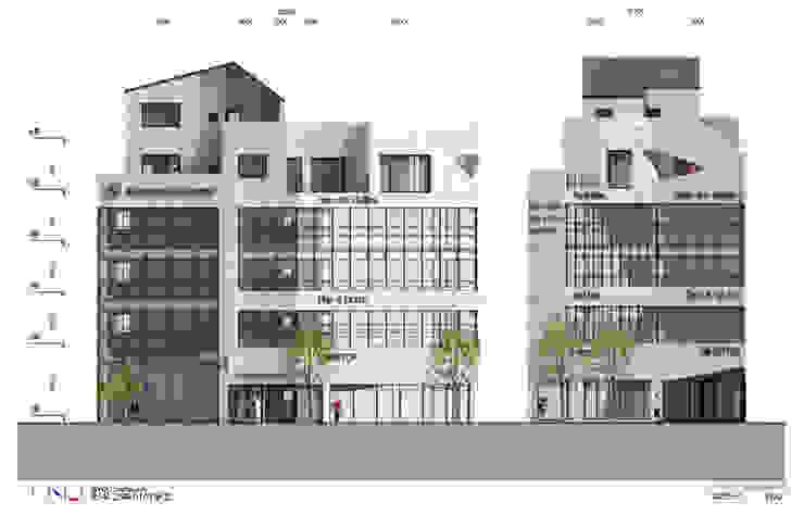 목포 상가주택계획안 by 인우건축사사무소 모던