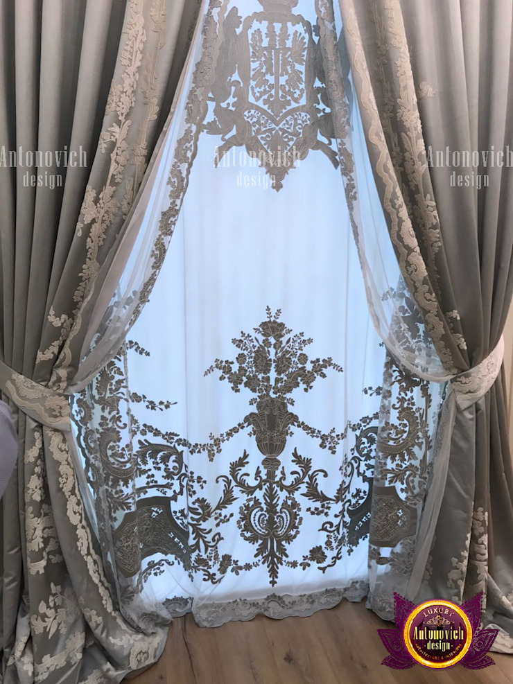 Curtain Fabrications To Accentuate your Home by Luxury Antonovich Design
