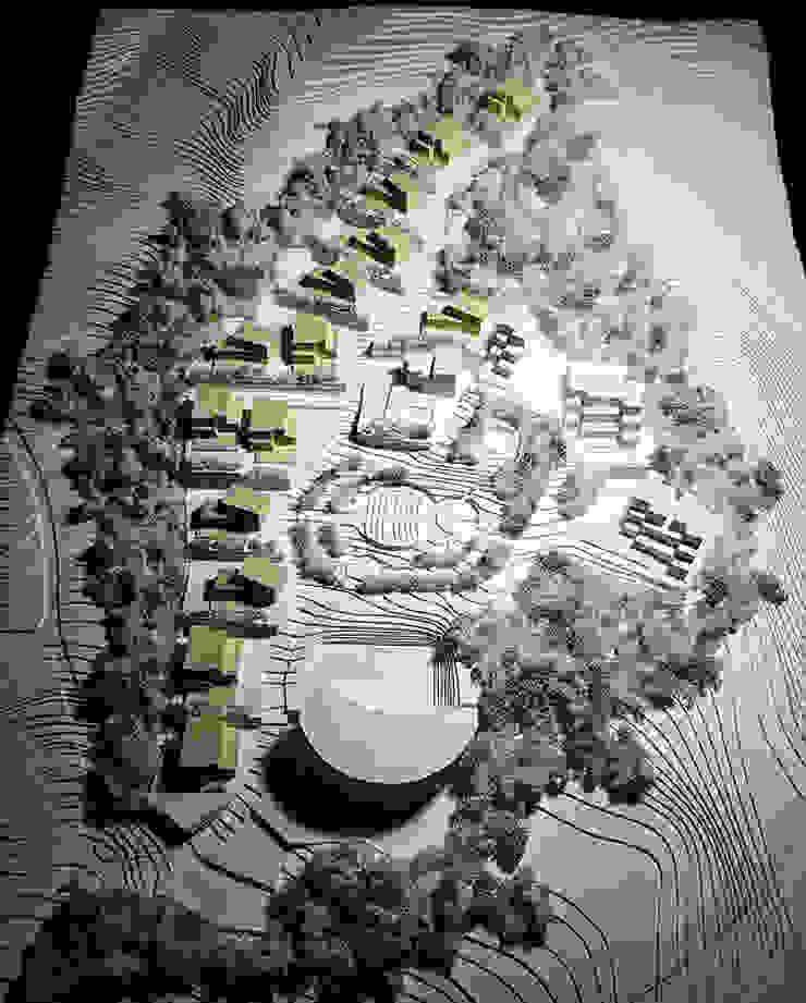 마스터플랜 모형: 위즈스케일디자인의 현대 ,모던