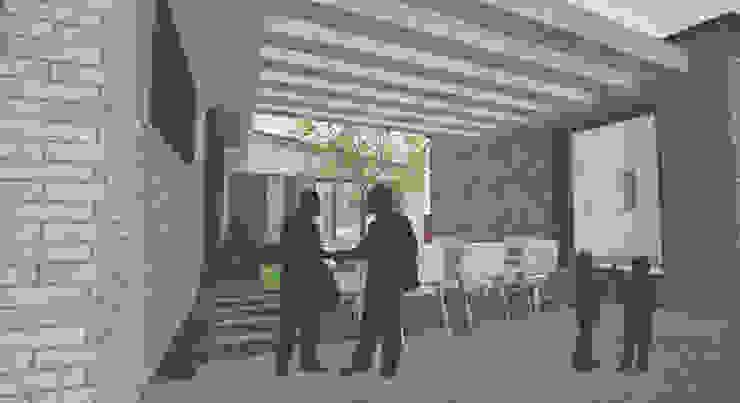 투시도: 위즈스케일디자인의 현대 ,모던
