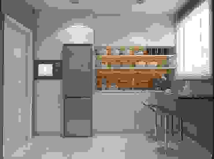 Cozinha moderna Legrand Arquitetura Cozinhas pequenas