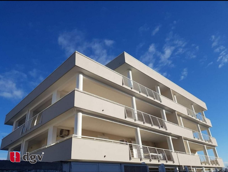 DGV metal srl Balconies, verandas & terraces Furniture Besi/Baja Beige