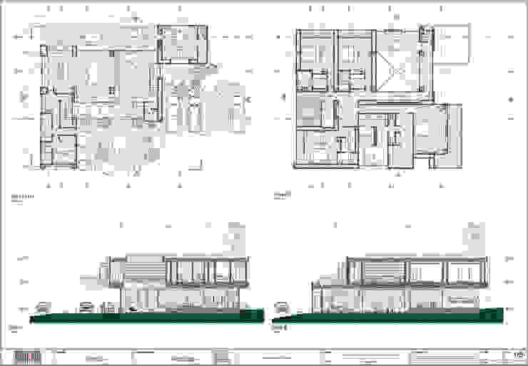Arquitectura BIM de arquitektaria Clásico Concreto