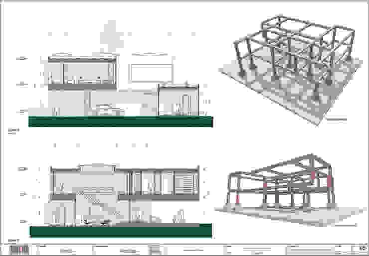 Arquitectura BIM de arquitektaria Clásico Aluminio/Cinc
