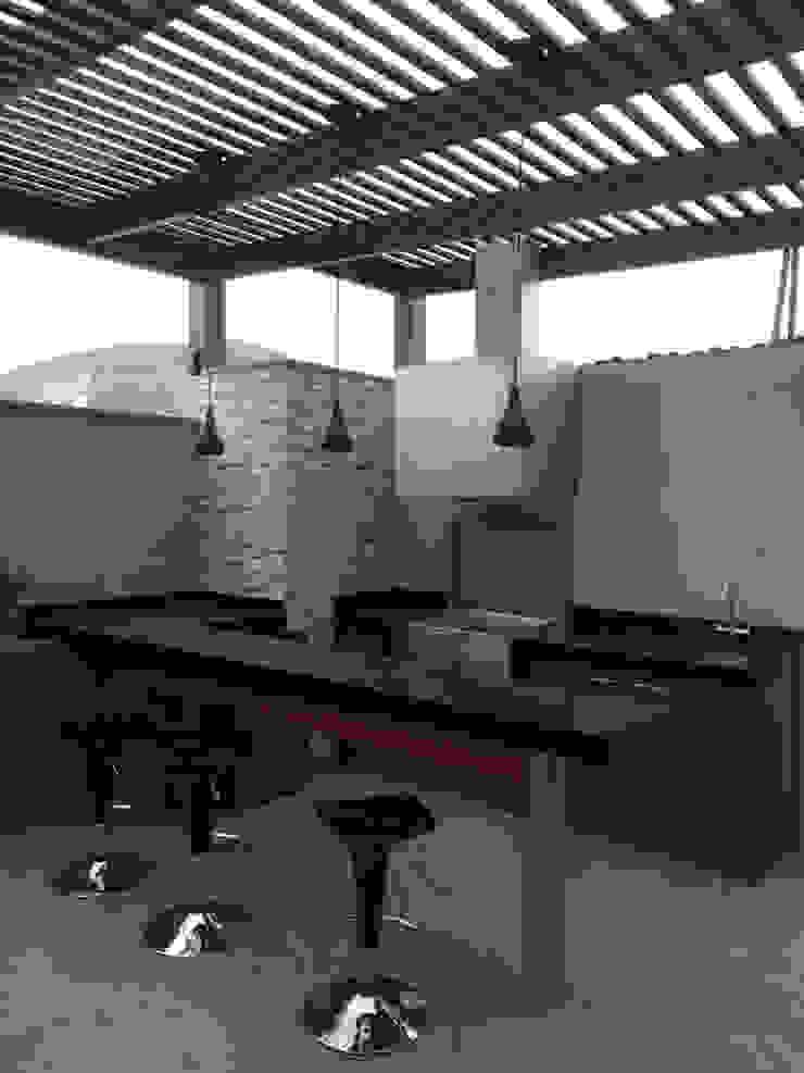 Balkon, Beranda & Teras Modern Oleh Oniria Arquitectura Modern