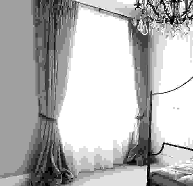 Maida Vale Townhouse Whitehouse Interiors RecámarasTextiles