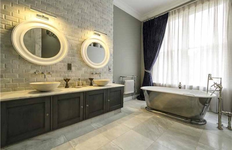 Maida Vale Townhouse Whitehouse Interiors BathroomDecoration
