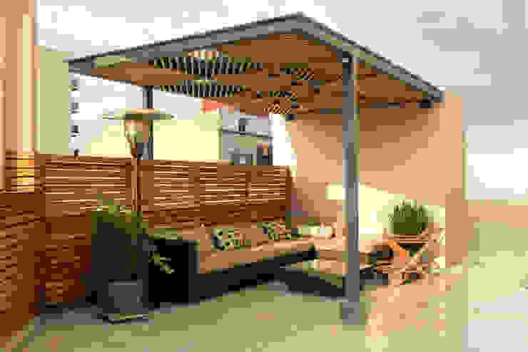 Boceto Arquitectos Paisajistas Moderner Balkon, Veranda & Terrasse