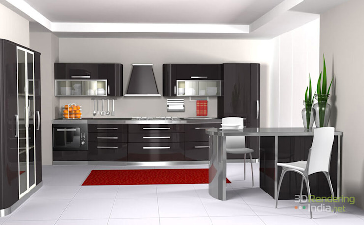 3D Architectural Rendering & 3D Interior Rendering by 3D Rendering India.net