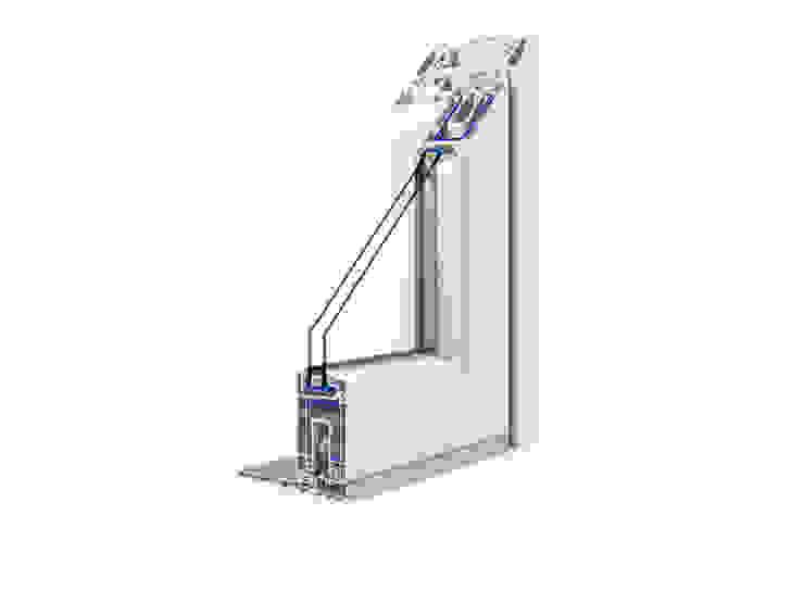 DGV metal srl Windows & doors Windows Wood-Plastic Composite White