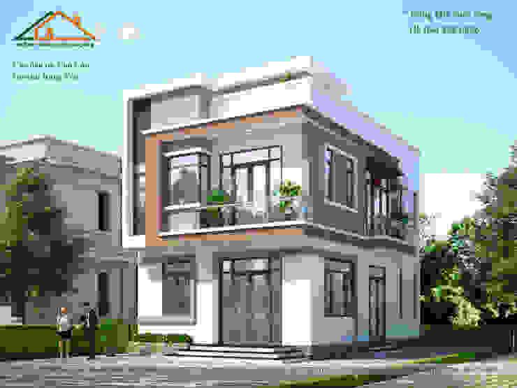 500 triệu bạn đã có cho mình ngôi nhà hiện đại sang trọng, tinh tế này. bởi Công ty CP kiến trúc và xây dựng Eco Home