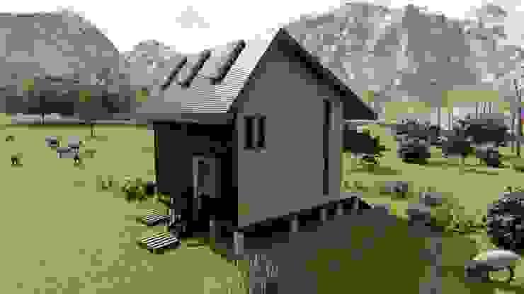 Diseño de Cabaña Rural en Coquimbo de Ekeko Arquitectura Rural