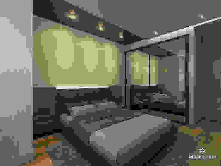 GÜL SOKAK DAİRE Monodesign İçmimarlık Modern Yatak Odası