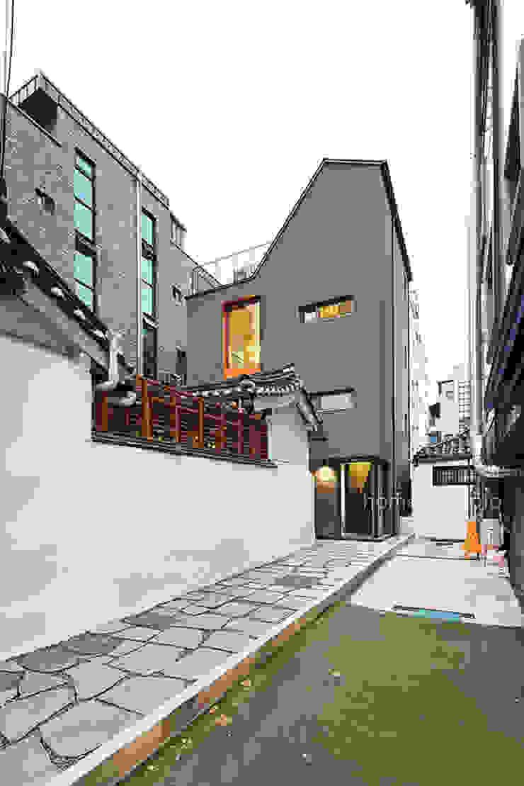 전경 모던스타일 주택 by 주택설계전문 디자인그룹 홈스타일토토 모던