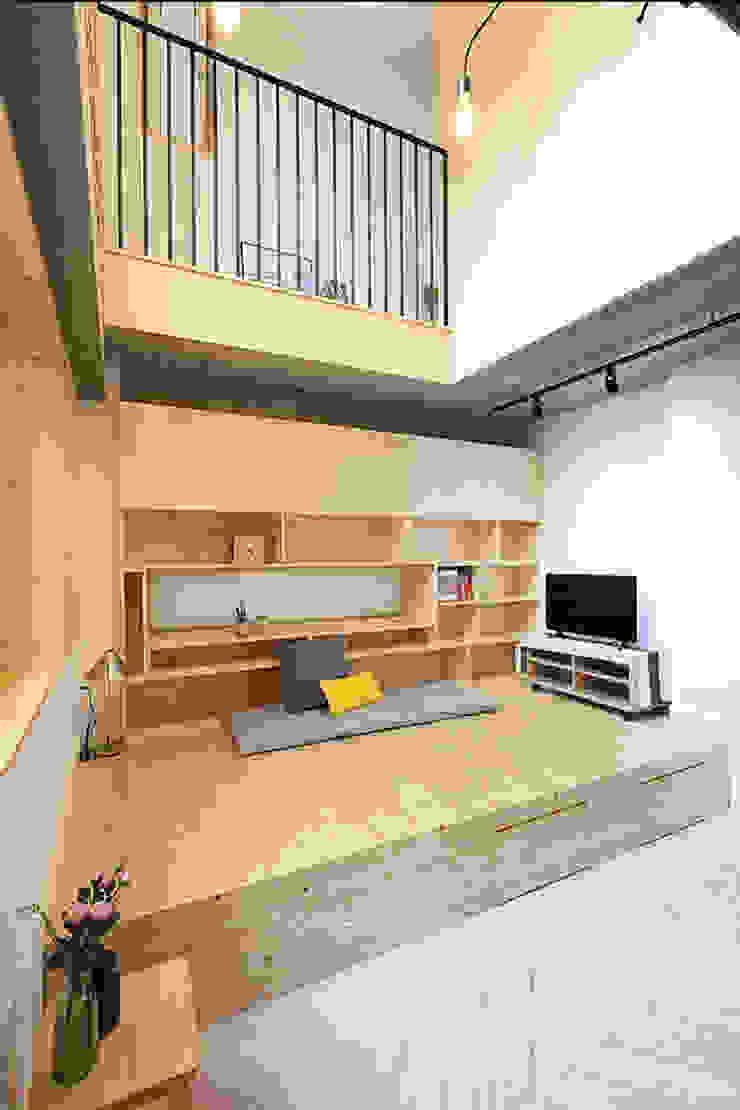 좌식응접실 모던스타일 거실 by 주택설계전문 디자인그룹 홈스타일토토 모던