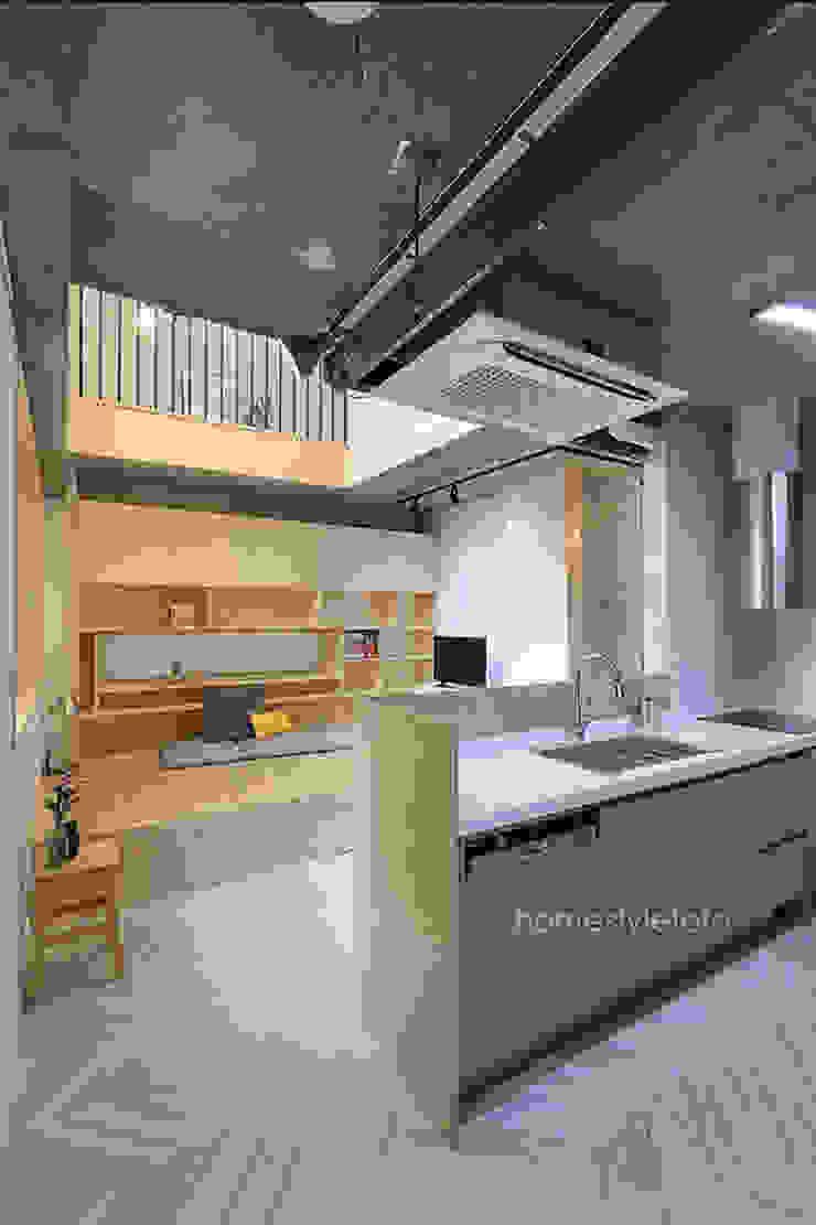 손님접촉공간 모던스타일 주방 by 주택설계전문 디자인그룹 홈스타일토토 모던